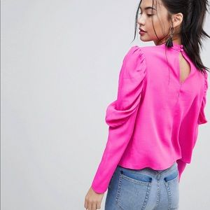 ASOS Boxy Top with Exaggerated Sleeve